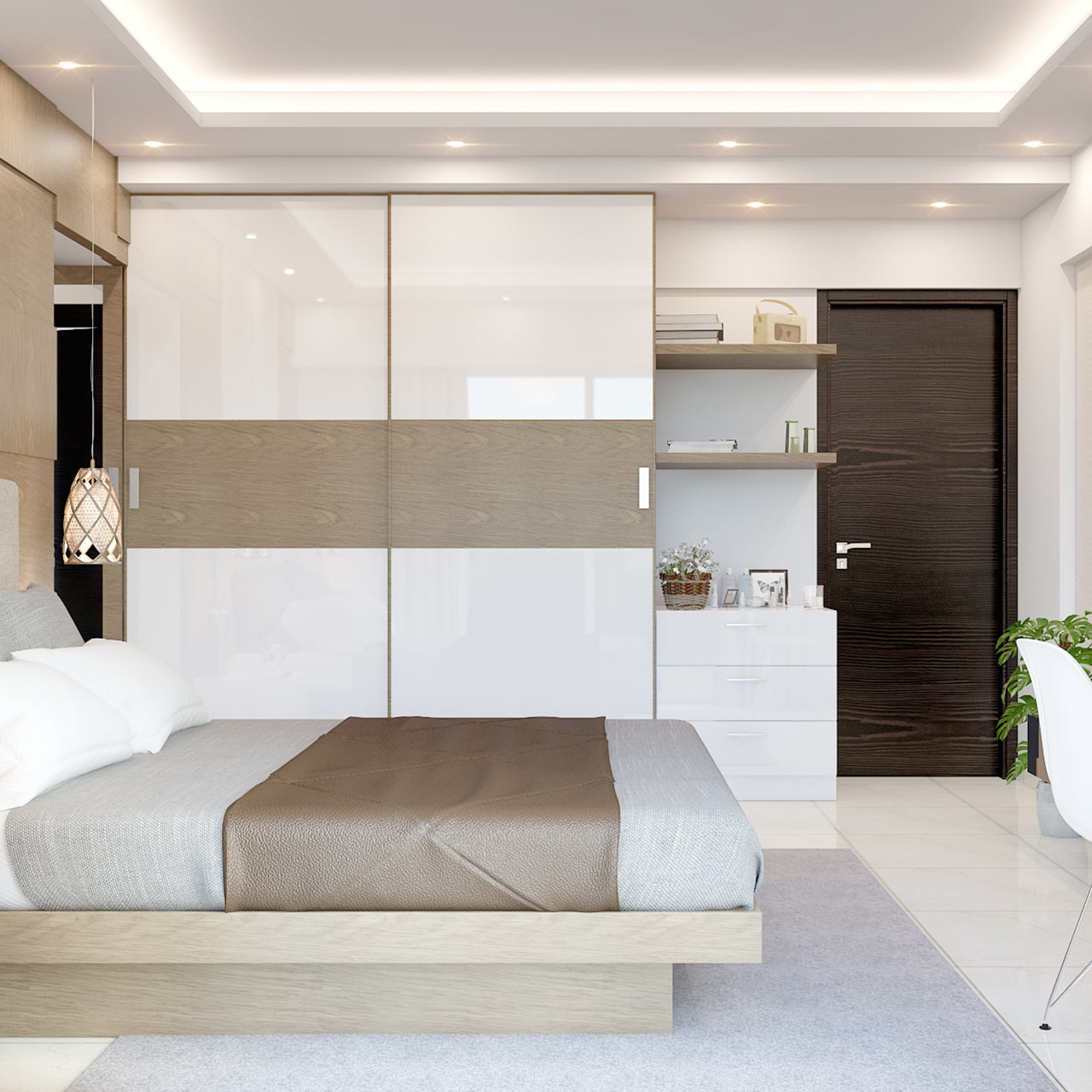 Latest Wardrobe Designs For Your Bedroom In 2020 | Design Cafe