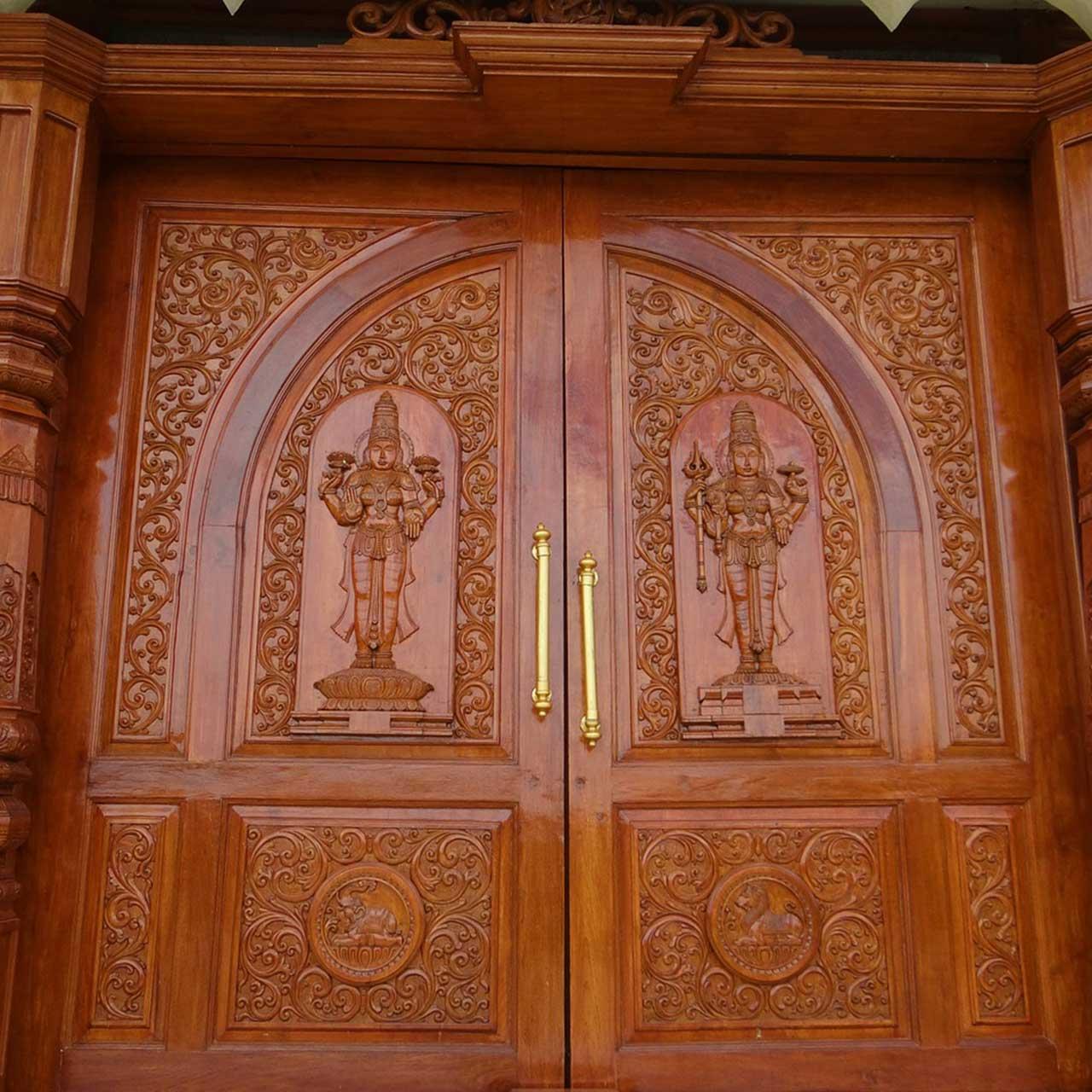 Picturesque Pooja Room Door Design Ideas For Your Divine Dwelling