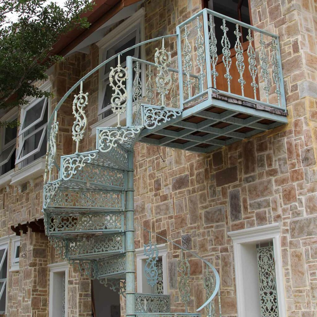 Outside spiral staircase design add to the beauty of your home small spaces