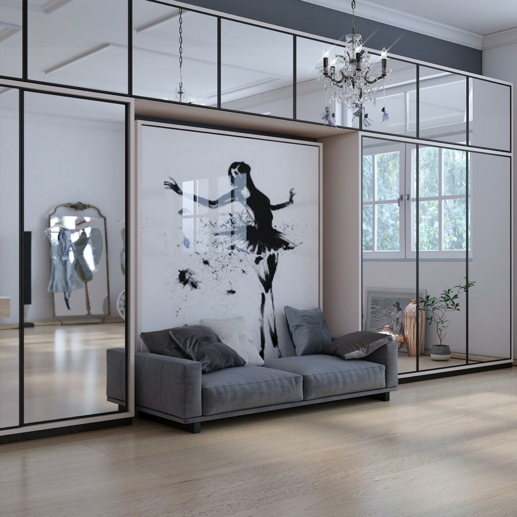 Creating magic with sliding mirror wardrobe doors on your sliding wardrobe design