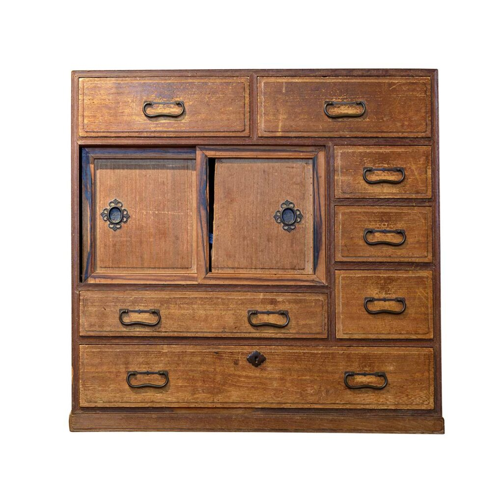 A multipurpose wooden cabinet for which is gaining popularity with wooden mandir design for home