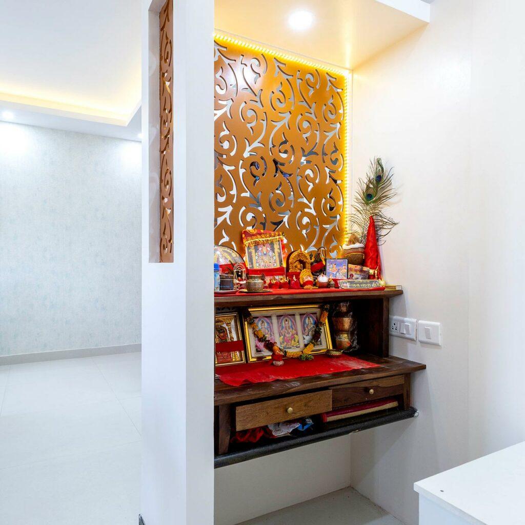 Latest Wooden Mandir Designs For Home Design Cafe