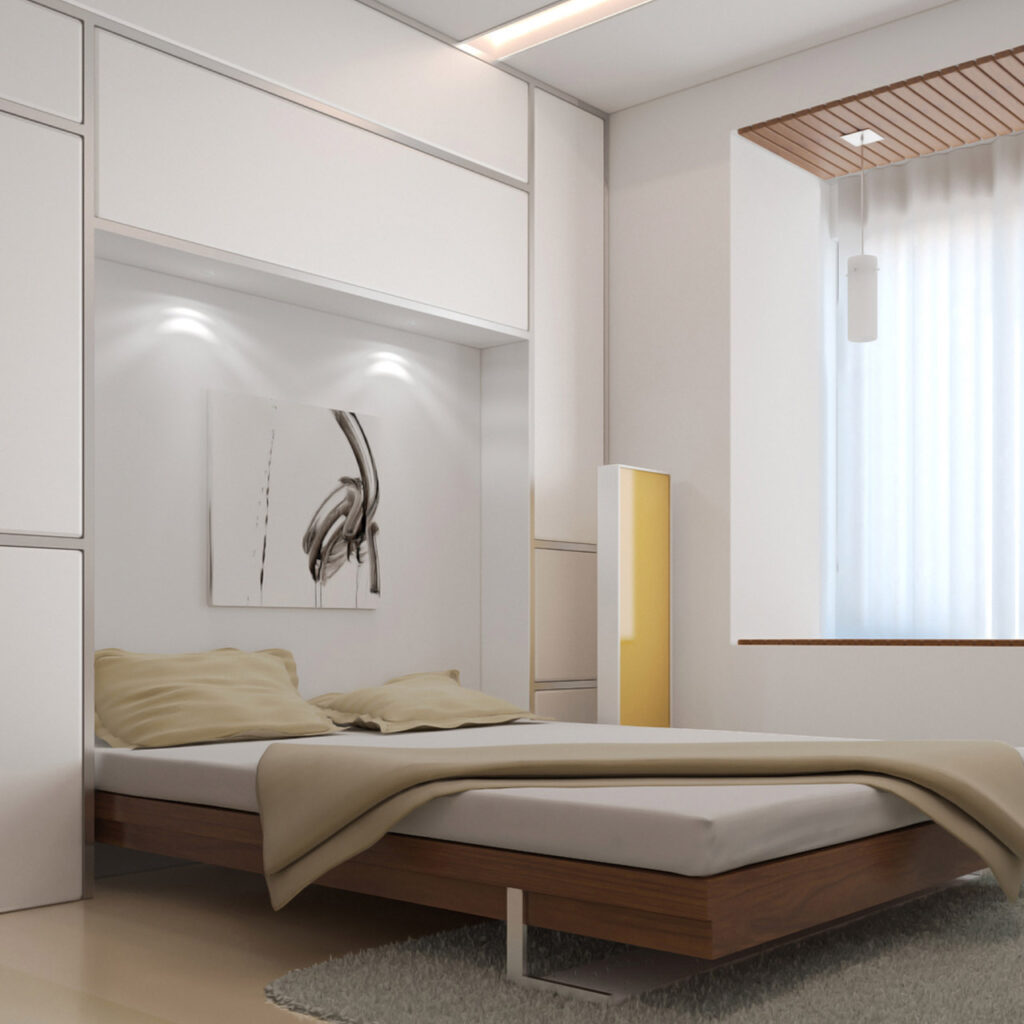 Murphy bed is innovative bed design which is a collapsible into a wall bed in Mumbai, Bangalore and Hyderabad