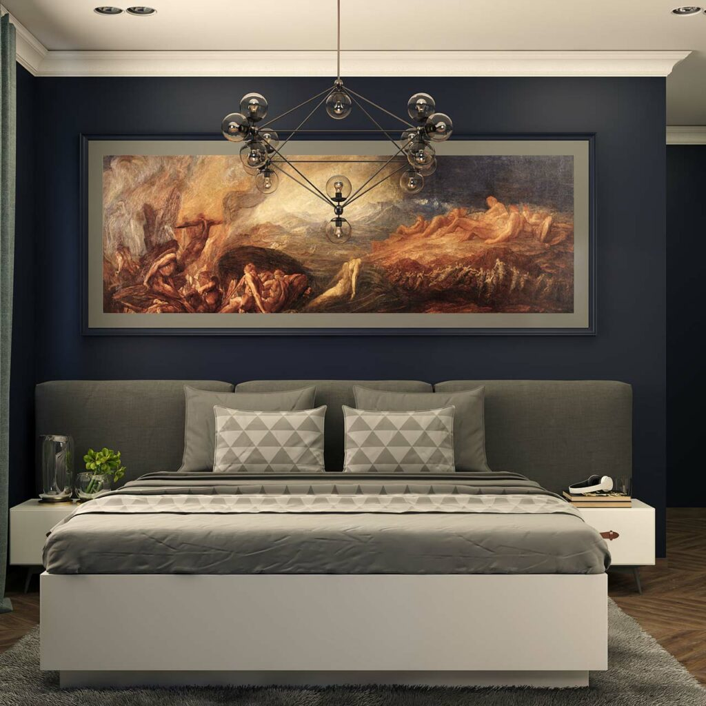 Space saving ideas for small bedrooms in small apartments by using custom headboard make a big statement in small rooms