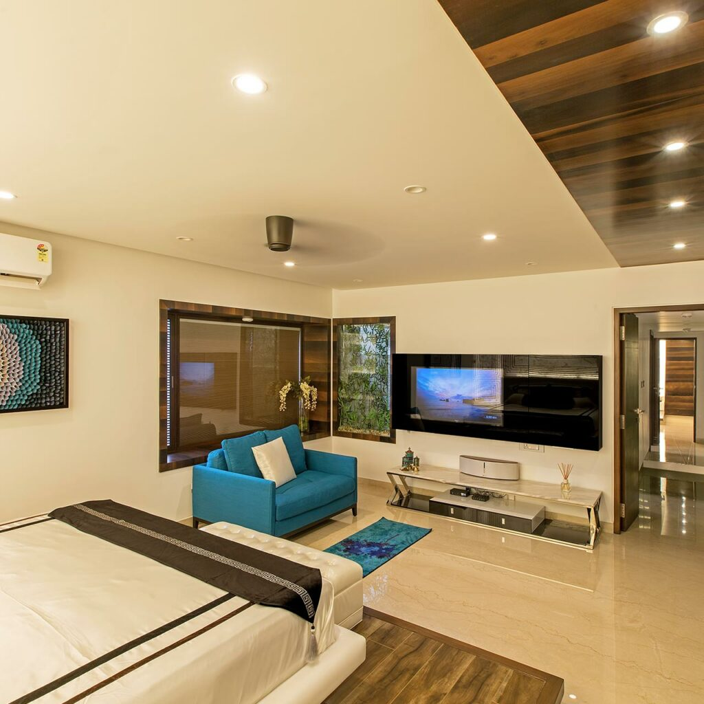A wooden false ceiling design for bedroom brings class look to bedroom fall ceiling