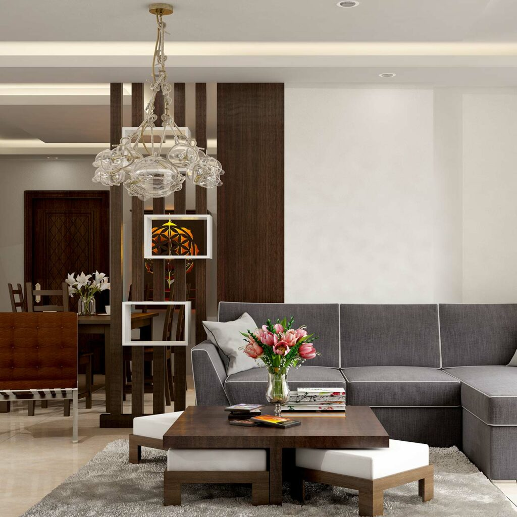 Understand the lighting positions before design your false ceiling designs for living room