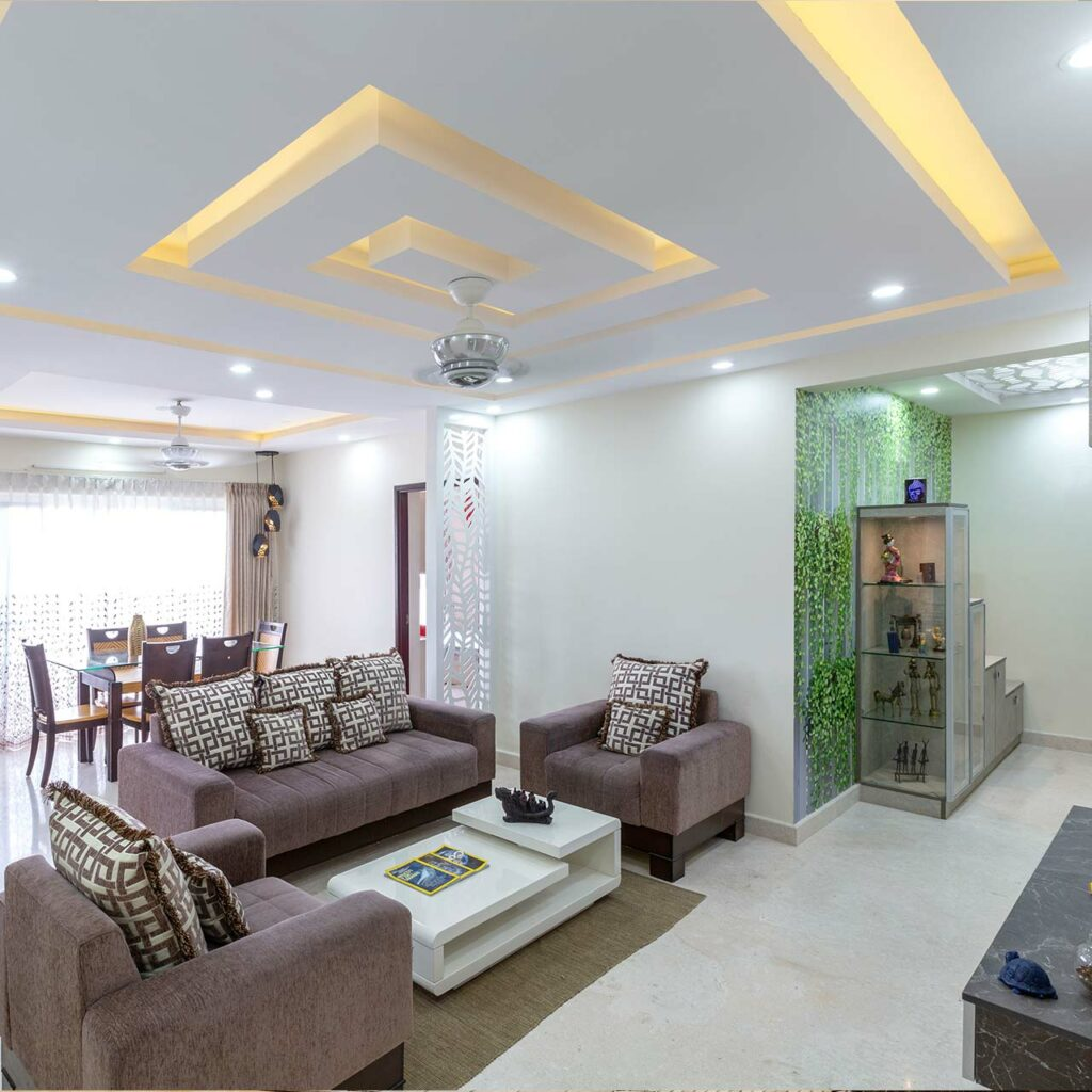 Best False Ceiling Designs For Living Room | Design Cafe