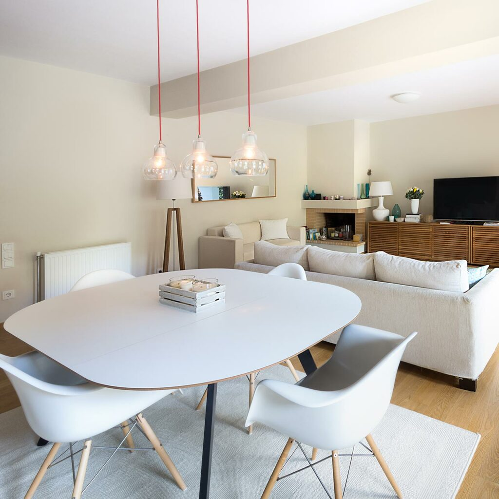 Compact Space Saving Dining Table For Small Home