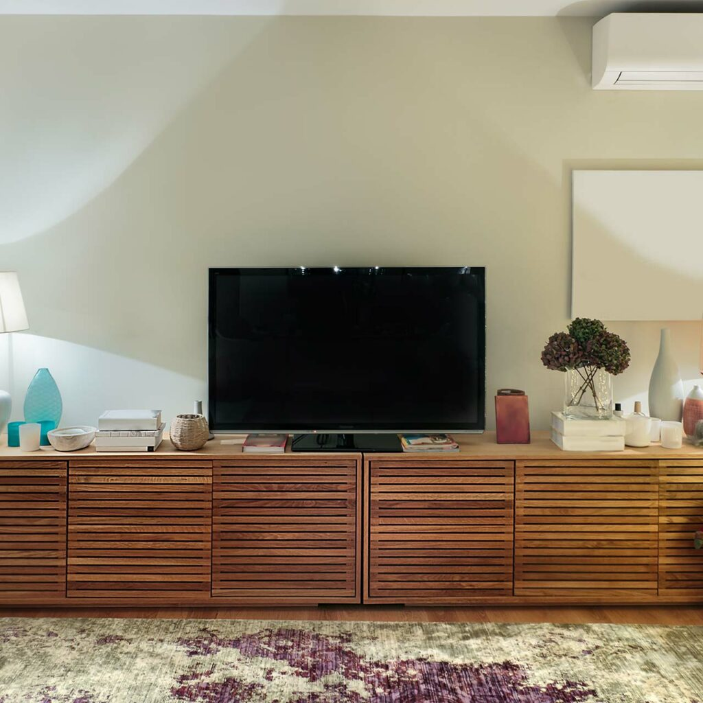 Teak, Seesham, Mango, Take Your Pick Of Wooden TV Cabinet Design For Living Room