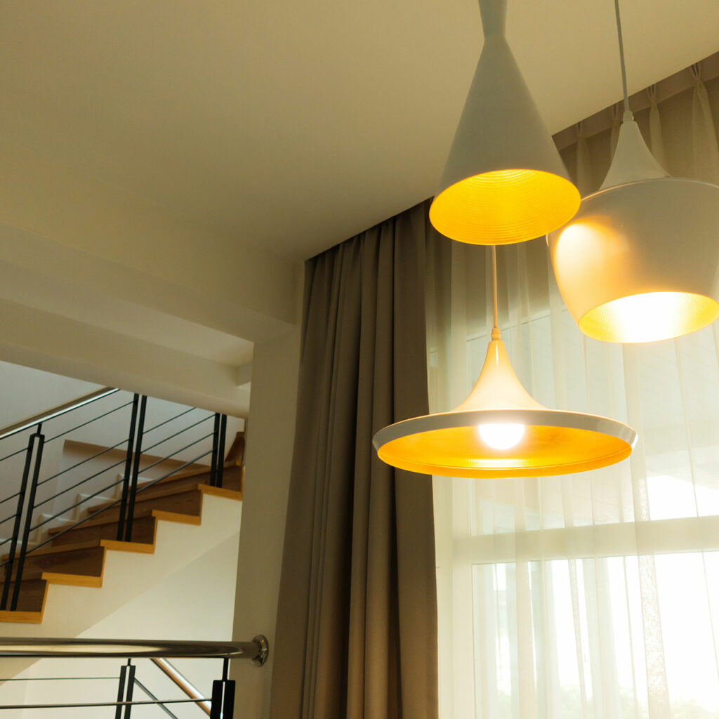 LED Pendant Light Design For Pop Ceiling