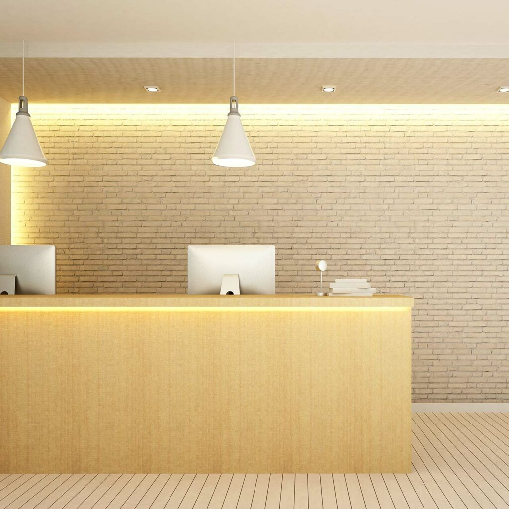 Led Indirect Lighting Design For False Ceiling