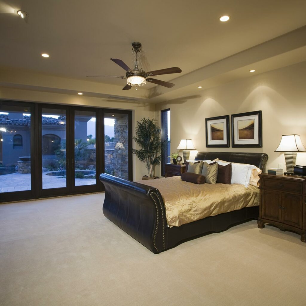 Recessed Lighting Design For Bedroom False Ceiling