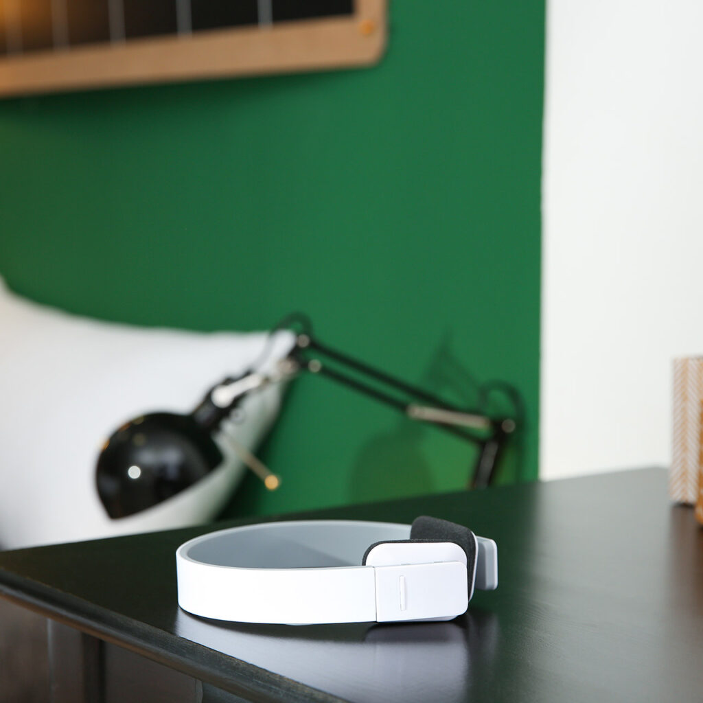 Introducing Wireless Speakers And Other Devices Makes Bedroom Feels Like a Luxury Small Living Room.