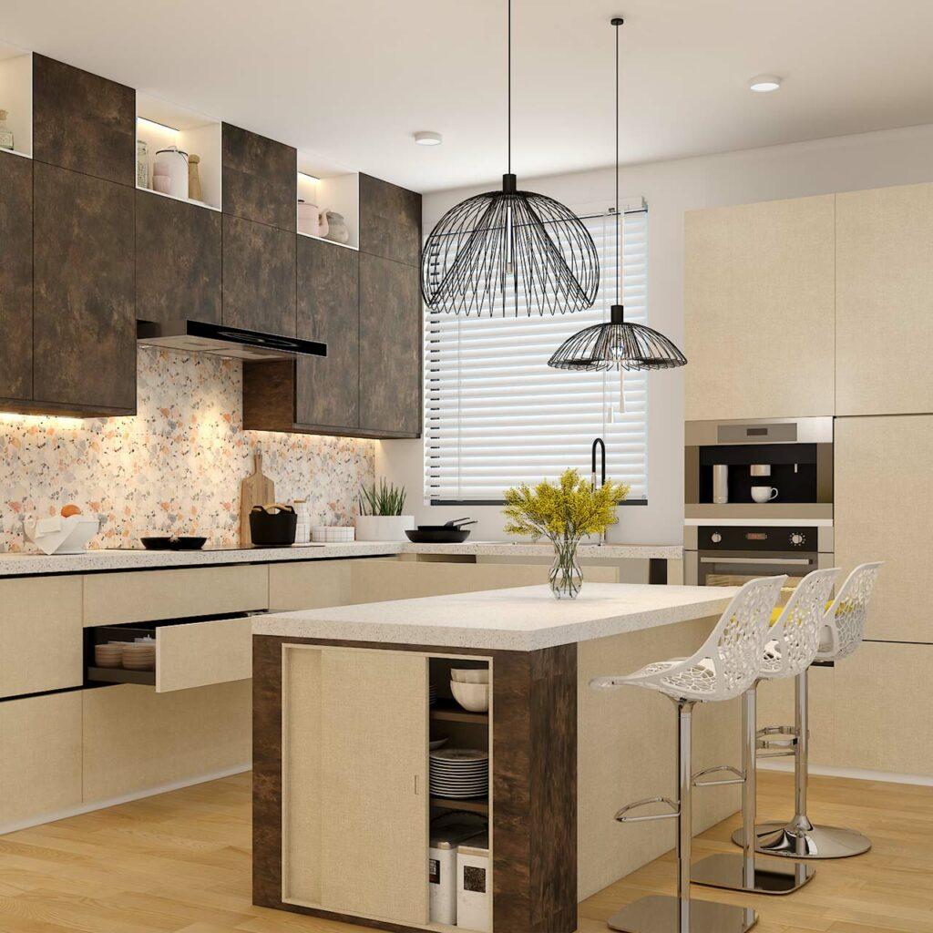 kitchen colour combination Paint Rusty Colour for sunmica colour combination kitchen cabinet doors