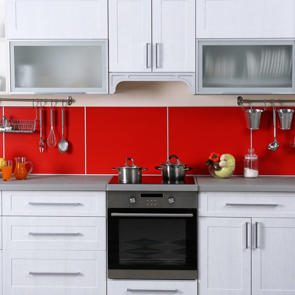 kitchen colour combination design With Red Color for colour combination for kitchen laminates