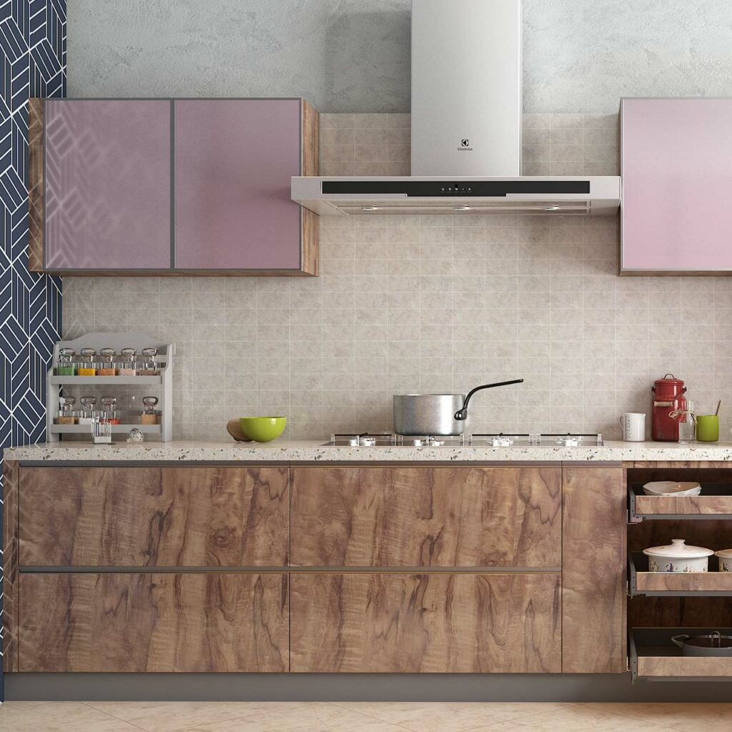 Small, mini kitchen design ideas with embellish with neutrals