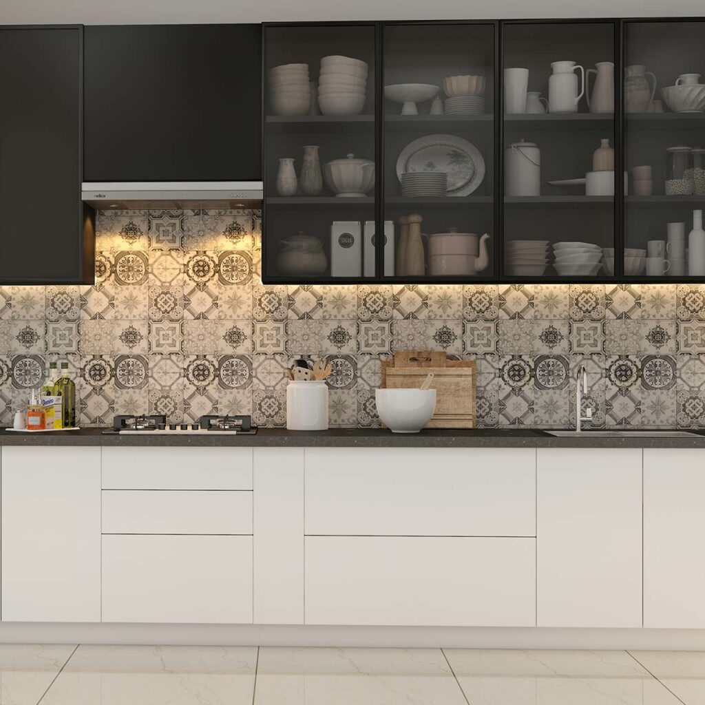 Open Shelves and Glass Facades to Organize Your Kitchens