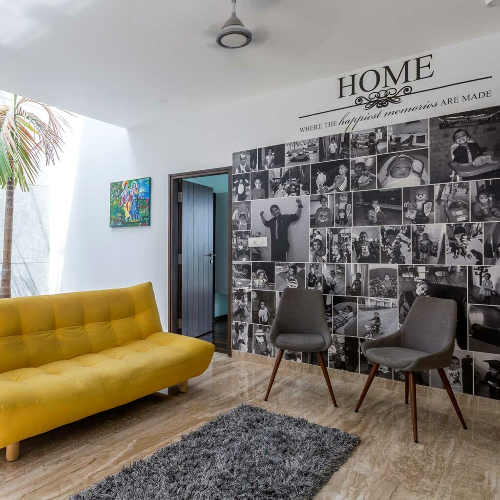 Design Your Bedroom With The Photos Of Your Family Or Children To Trace Their Lives And Accomplishments