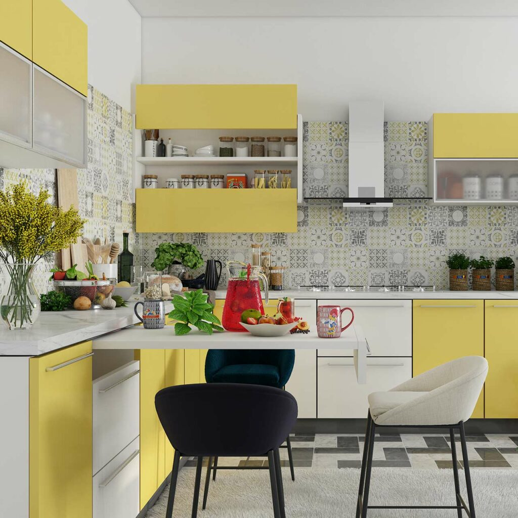 Kitchen hacks with kitchen decor color is a power which directly influences the soul