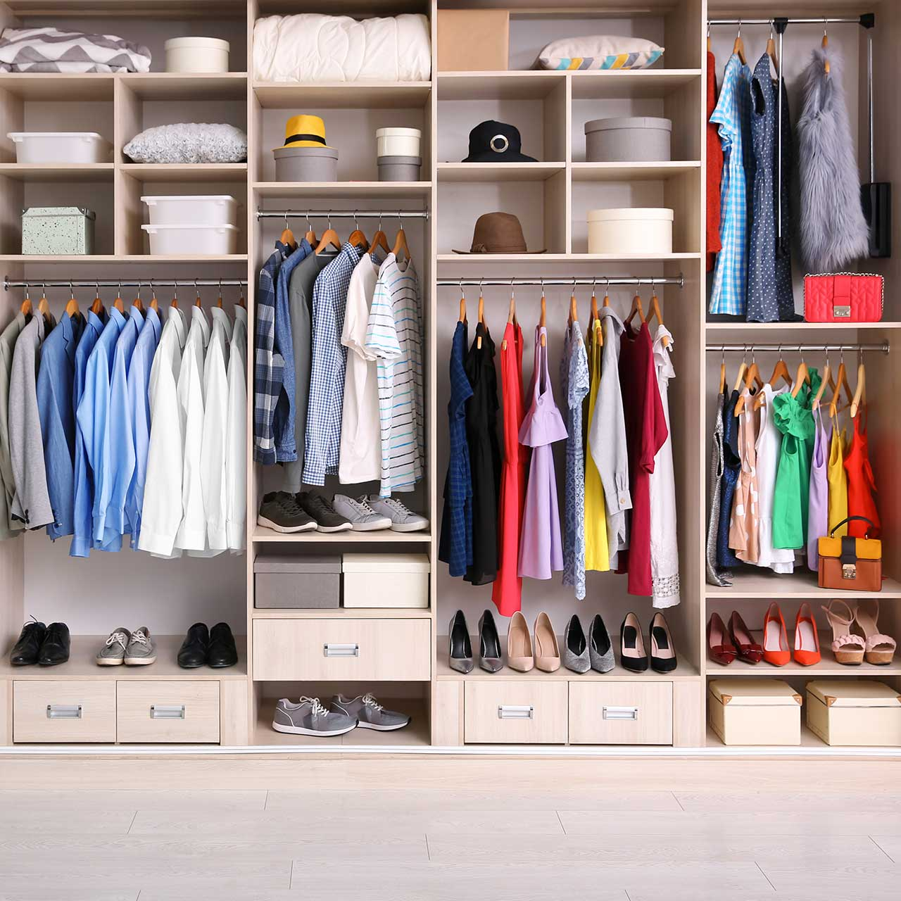 Max Out your Closet Space