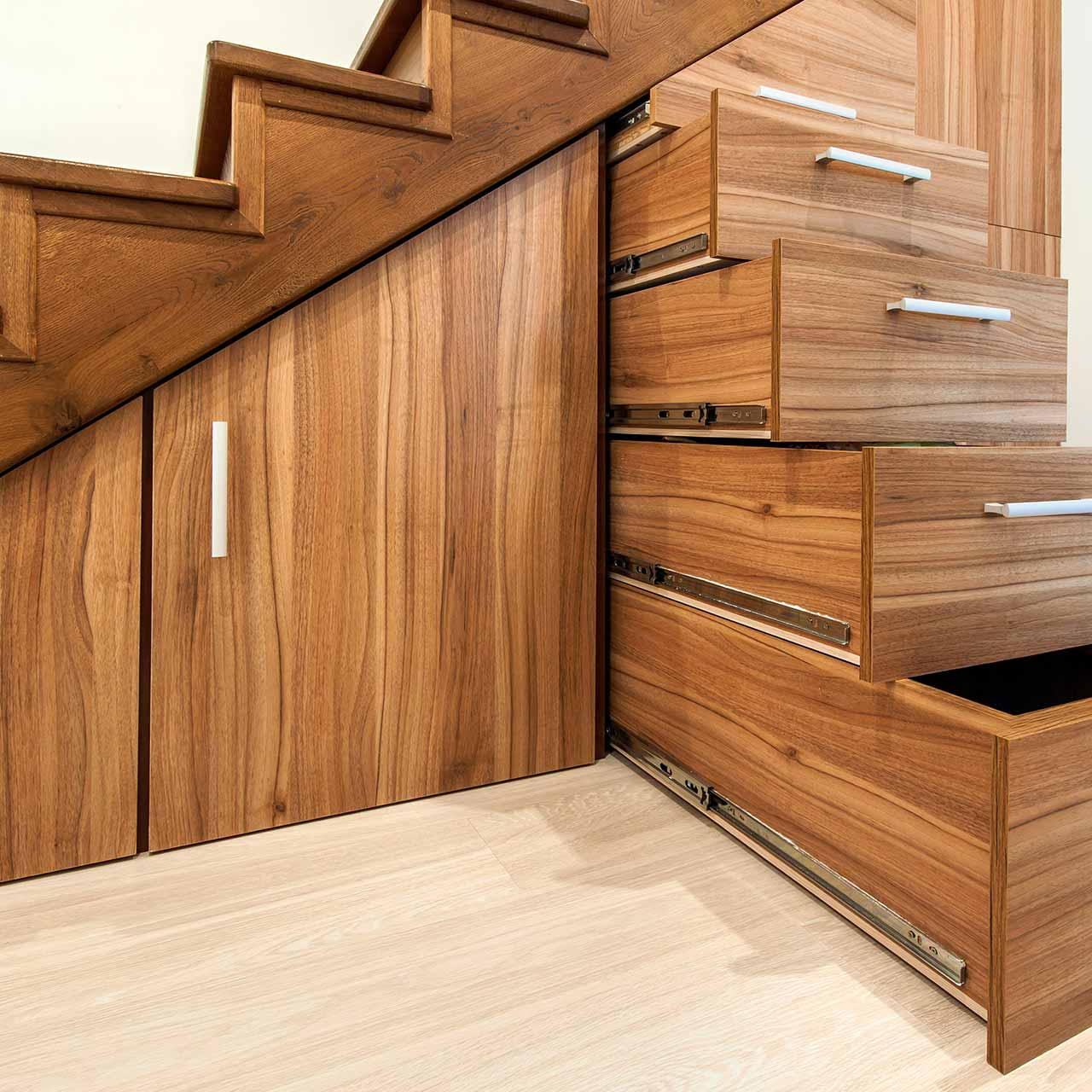Storage Space Under your Stairs is Valuable