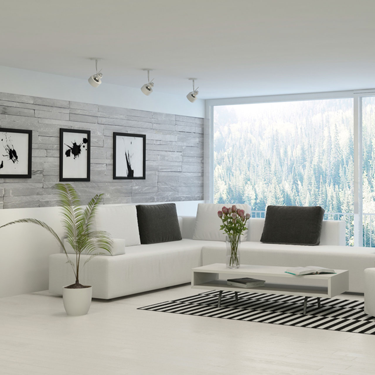 Choose the right color for your modern penthouses design