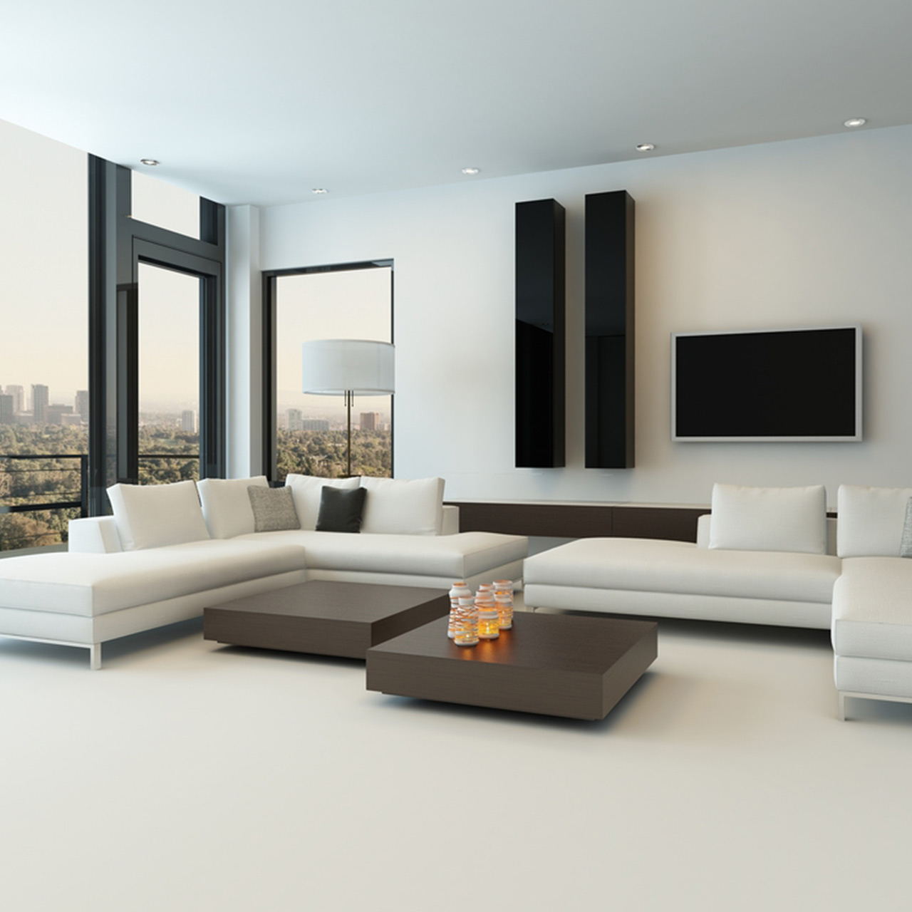 Penthouse design furniture in your penthouse apartment