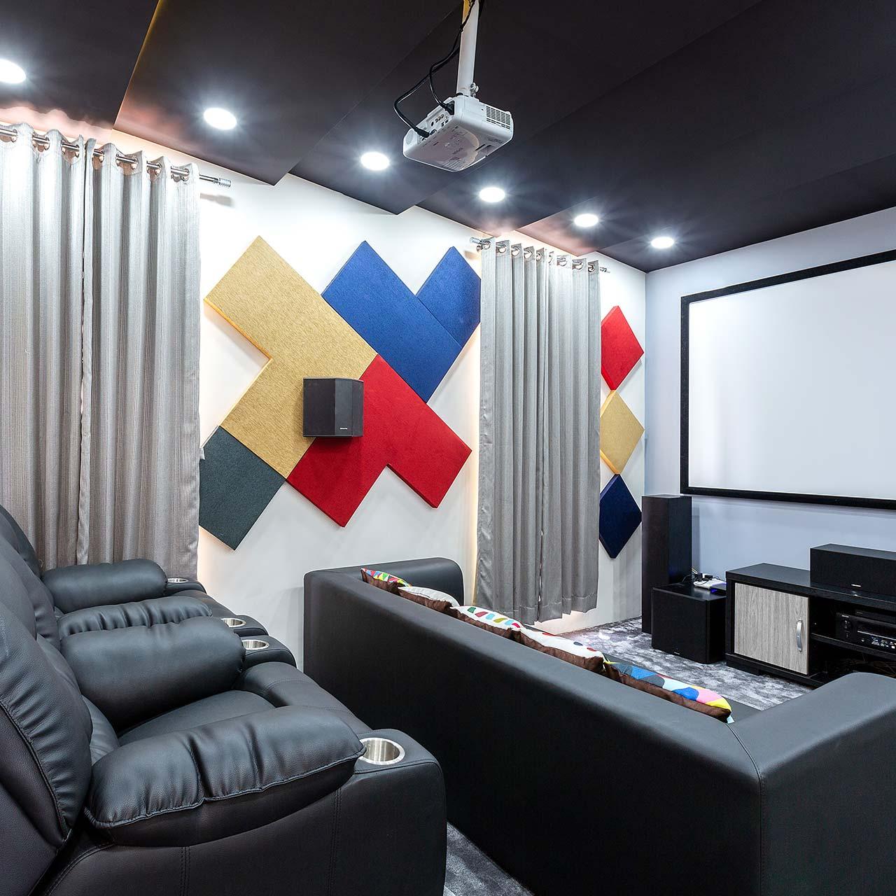 Plan Family Entertainment for Villa Design