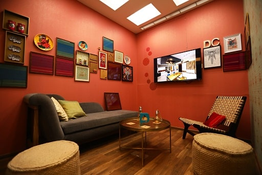 Best Living Room Interiors Experience Centre Mumbai, Interior Design Studio or Store.