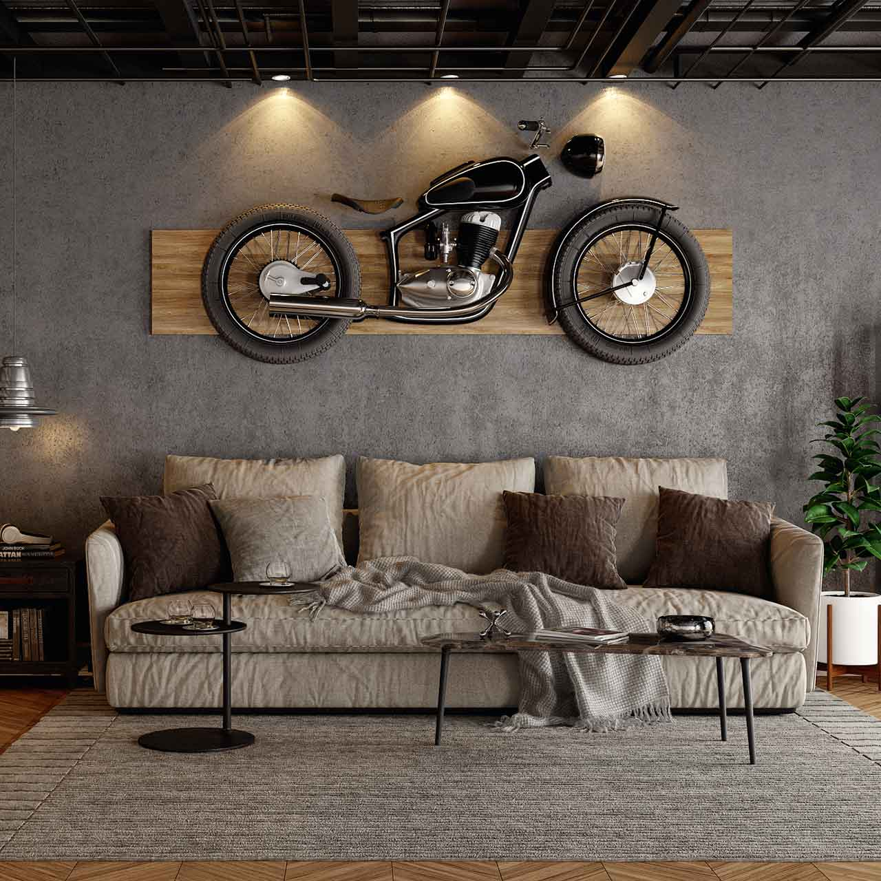 Wall Designs for Living Room