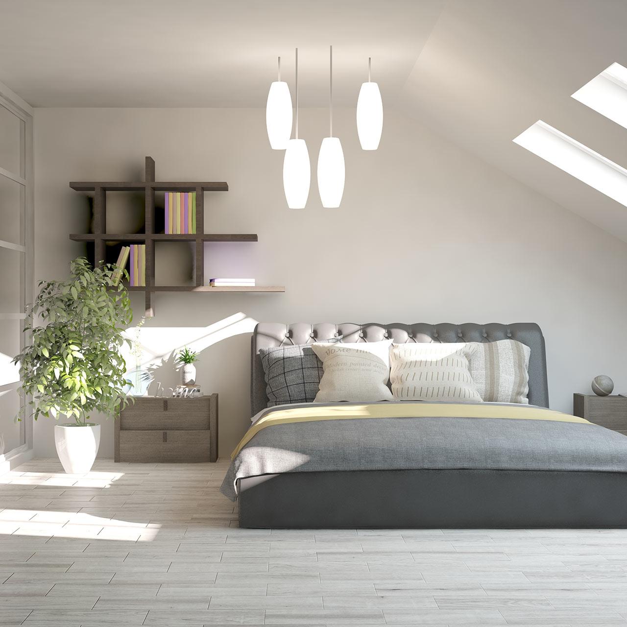 Furniture Ideas for Scanadivian Style Bedroom Design