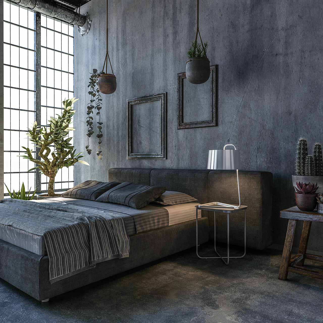 Industrial Style Bedroom Design Ideas Design Cafe
