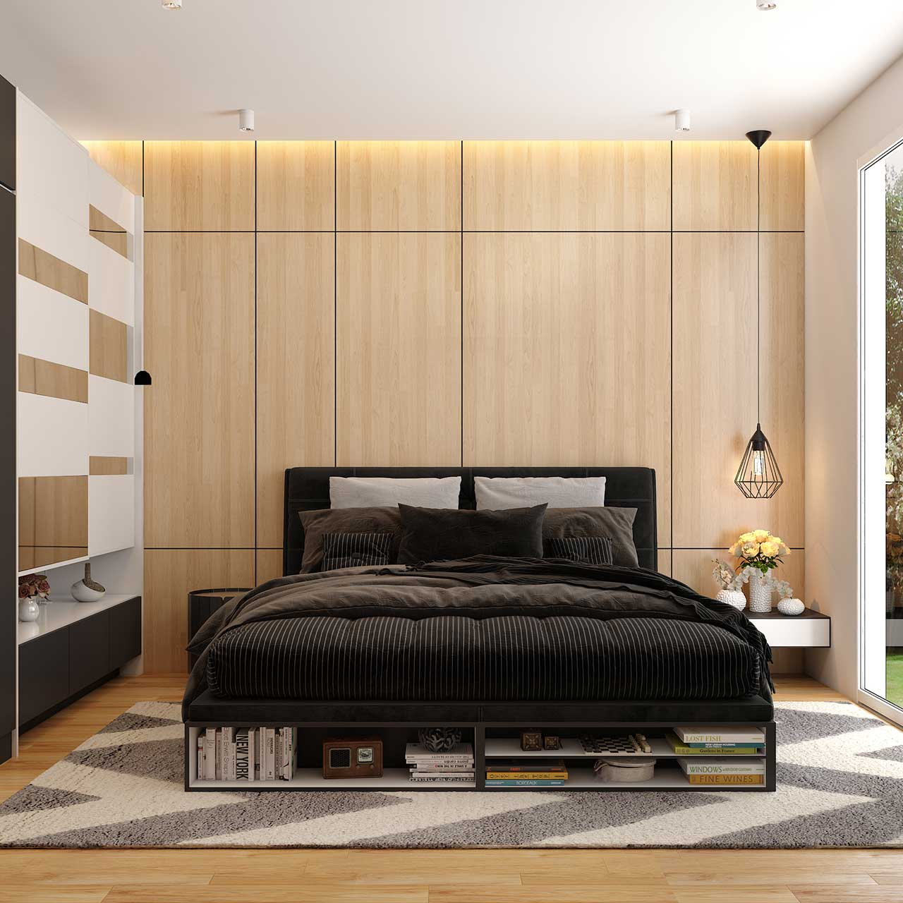 Add Textures with Textiles for Master Bedroom Design