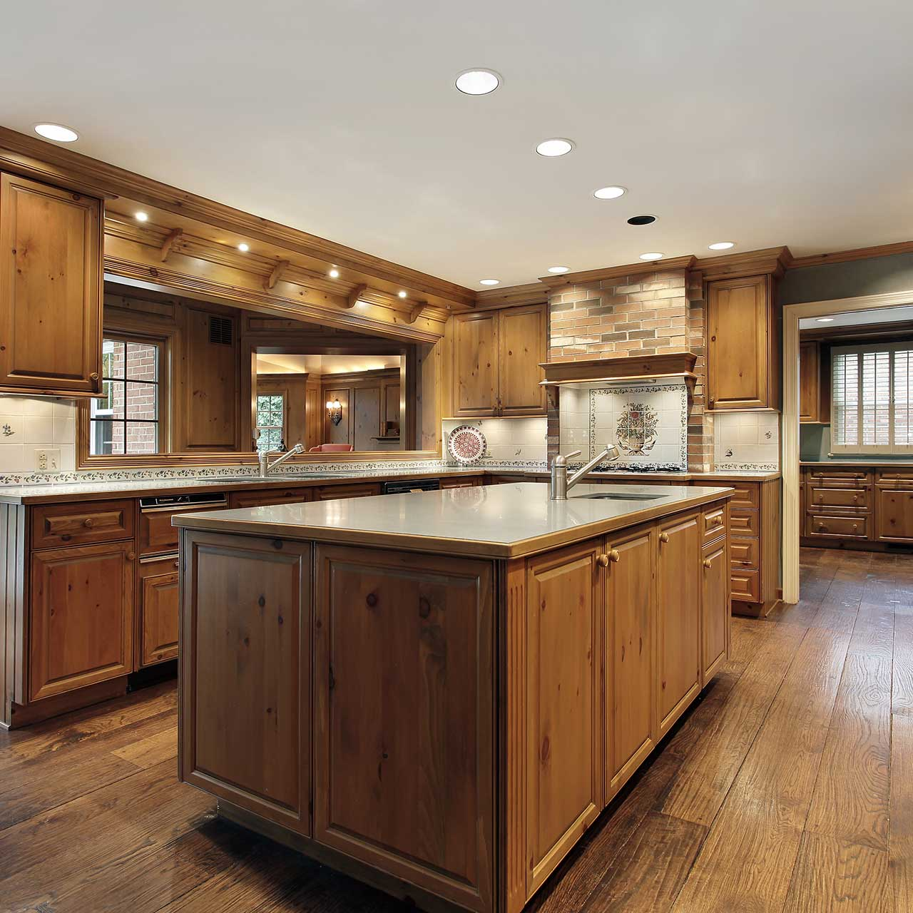 Traditional Modular Kitchen Design