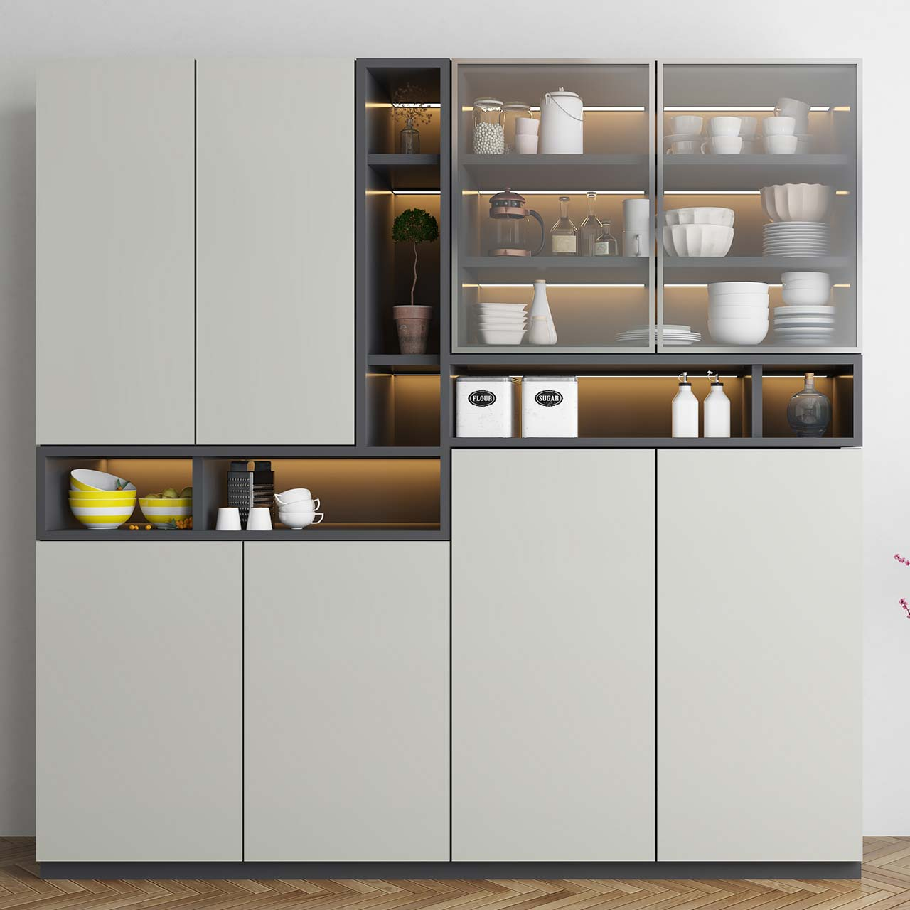 Smart Kitchen Storage Units