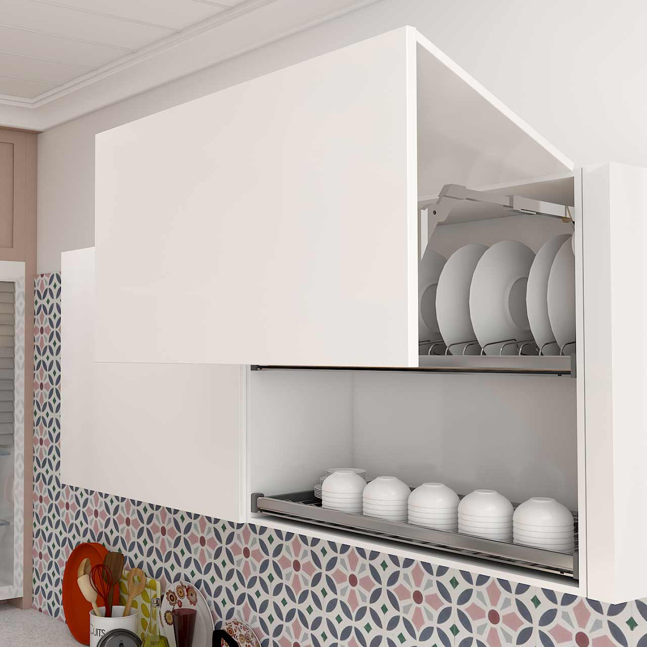 Kitchen Lifts for Less Clutter