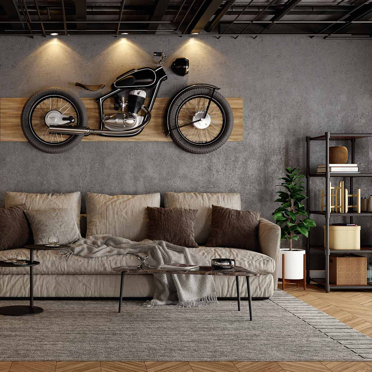 Living room needs a focal point to capture attention