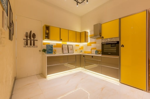 Modular Kitchen Concepts at Interior Design Experience Centre in Whitefield Bangalore Design Cafe Store.