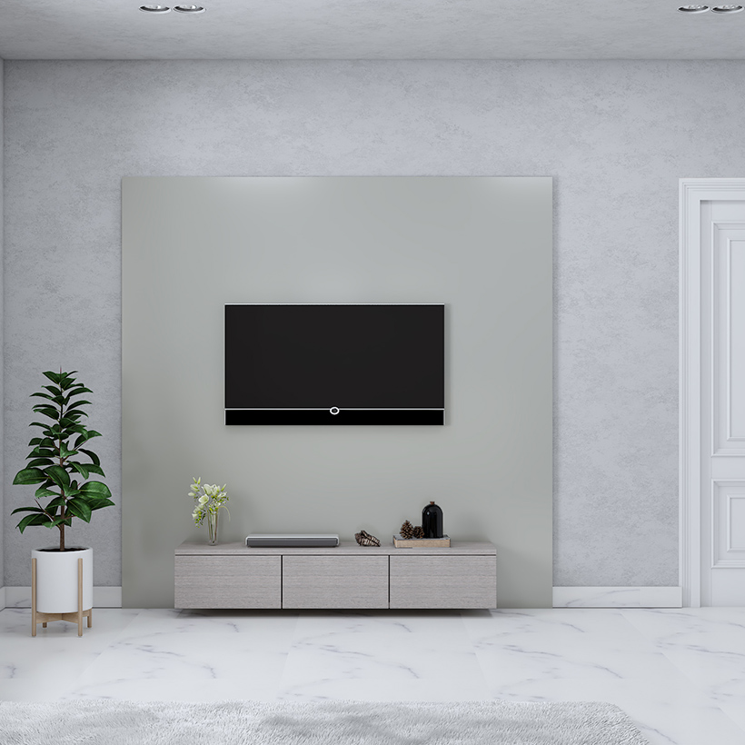 Led tv showcase designs with a minimalistic furniture inside the room for simple tv showcase