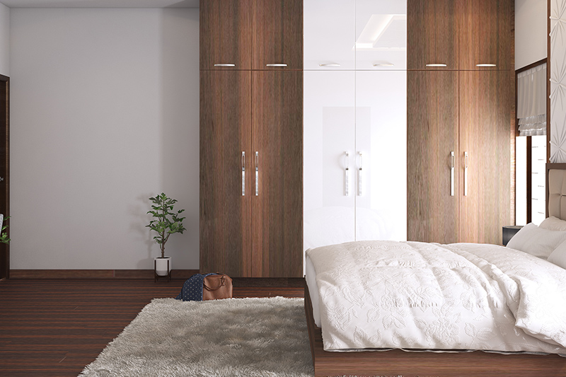 Wooden wardrobe price that lets you decide your wardrobes personality with wooden wardrobe online India