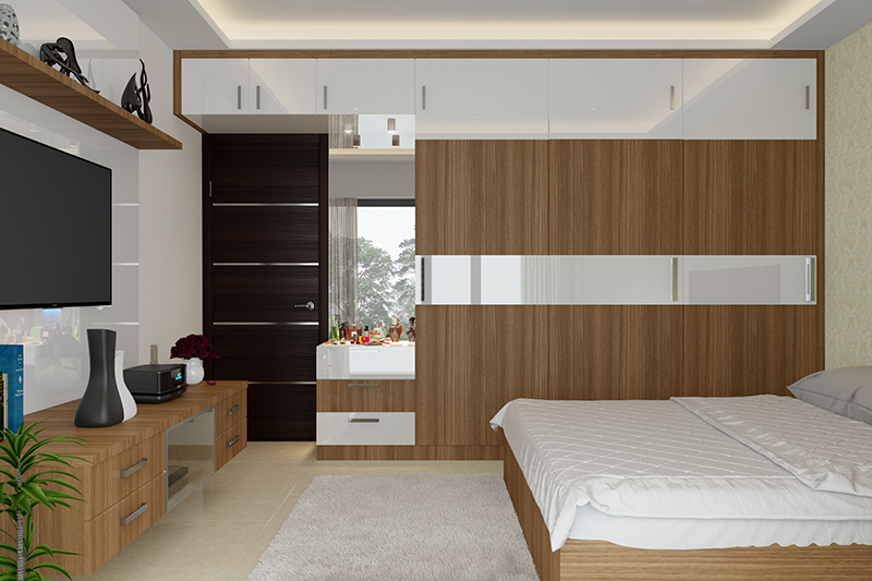 Modern Wardrobe Designs For Bedroom | Design Cafe