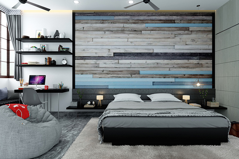 Wallpaper for bedroom wall designs with brick designs of bedroom wallpaper patterns