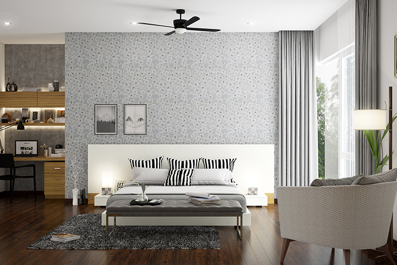 Wooden bedroom furniture designs with a minimalistic white theme furniture with designer bedroom furniture sets