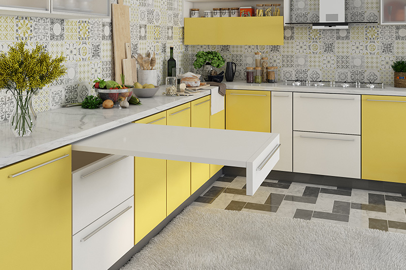 A traditional backsplash design looks impressive in your cooking space