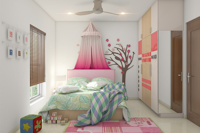 Creative bedroom designs for girls with a fairy tale design a canopy bed for your little princess