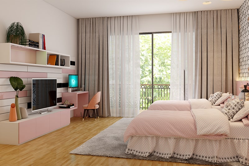 Beautiful teenage girl bedroom ideas