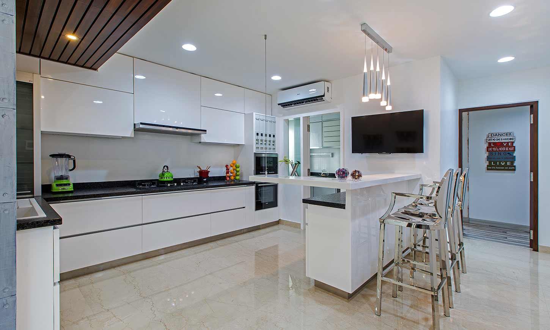 list of interior designers in bangalore which design minimalistic style kitchen