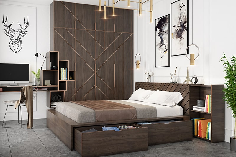 Bedroom should be in the southwest direction according to vastu shastra for house