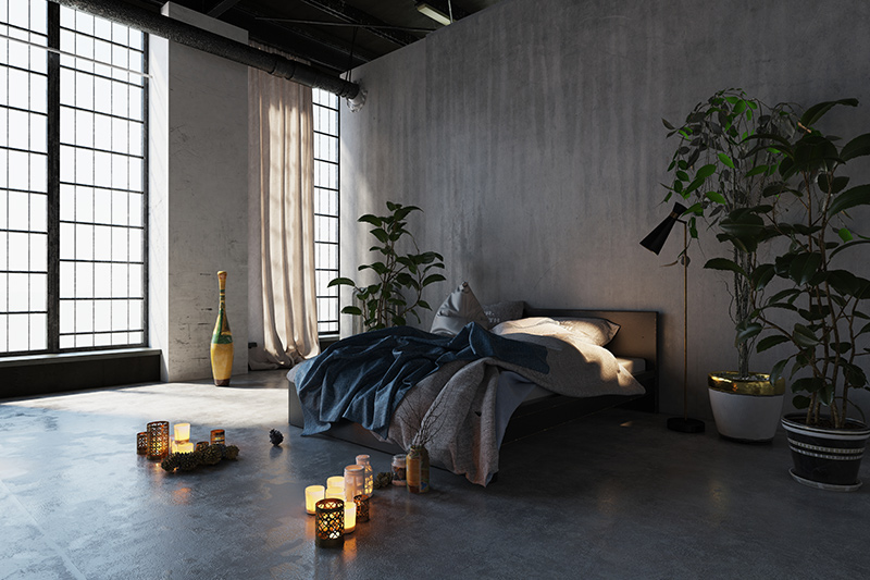 Home decor ideas for newly weds with a gorgeously styled bedroom