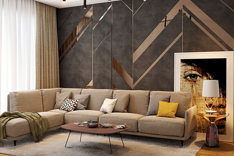 10 Brilliant Living Room Wall Decor Ideas Design Cafe